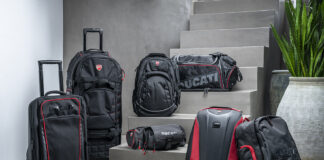 Ducati Redline: The Collection Of Trolleys And Sports Bags