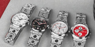 Carl Fogarty Limited-edition Forzo Watch Collection Launches