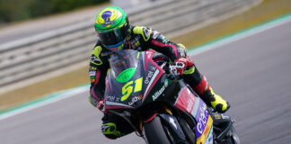 Granado Vs Aegerter Decided By Just 0.077 On Day 1