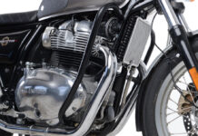 """R&g """"adventure Bars"""" Available For Royal Enfield Interceptor And Continental"""