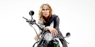 In Milan Steven Tyler And Guy Martin Presented The New Supersport And Custom Touring Tyres From Metzeler