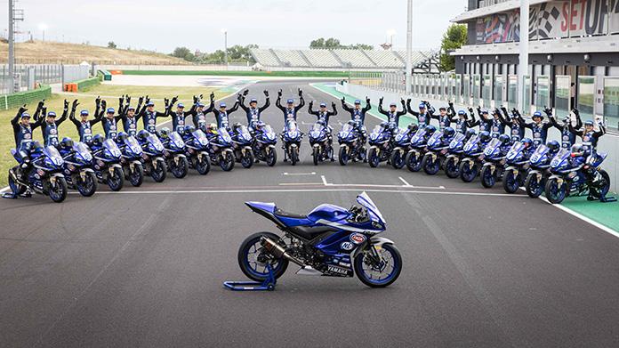 2021 Yamaha R3 Blu Cru European Cup Gets Underway With Misano Test