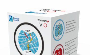 Tomtom Vio   Piaggio And Vespa Edition