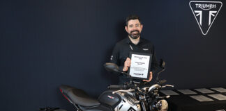Total Triumph Wins Dealer Of The Year Award