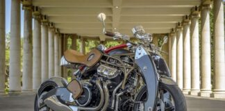 Astonishing Bienville Legacy Motorcycle Set For World Debut Performance At Goodwood Festival Of Speed