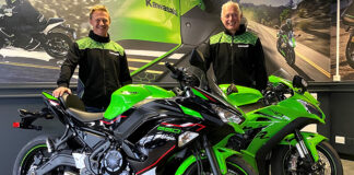California Superbike School Go Green With Kawasaki