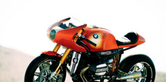 'concept 90′ Is One Of 40 Iconic Motorcycles Celebrating Ninety Years Of Bmw Motorrad At The Goodwood