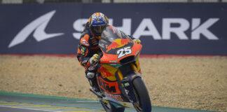 Fernandez Flies To Maiden Moto2 Pole In France