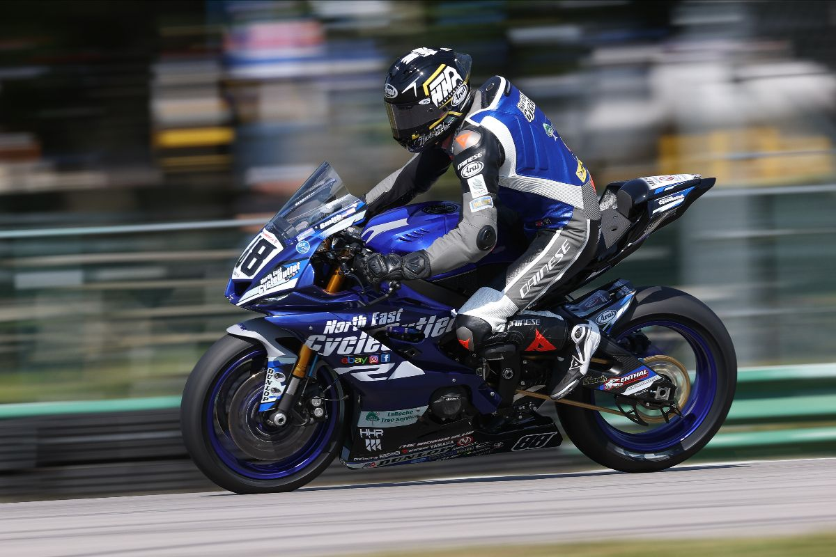 Gagne Leads Motoamerica Honos Superbike On Day One At Vir