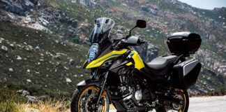 Get £500 Of Free Accessories When Buying A New V-strom 650