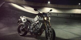 New Yamaha Mt-09 Street Tracker Launched