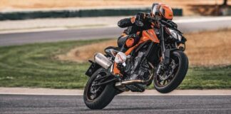 Ktm Turns Motorcycle Live Orange