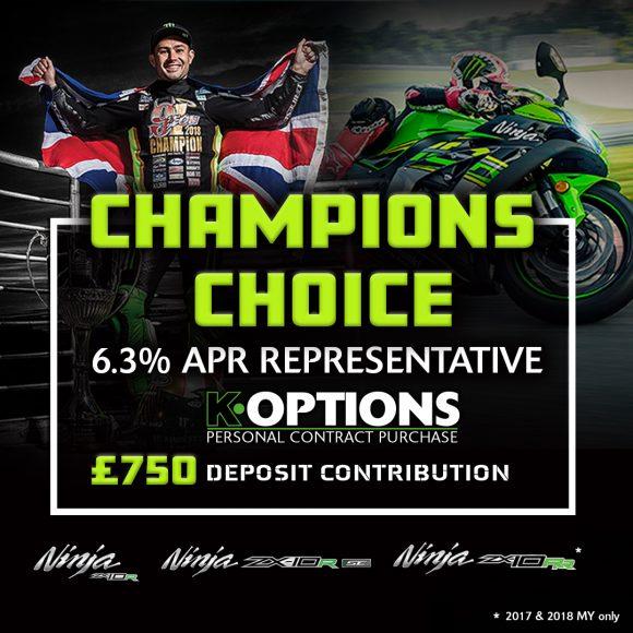 Kawasaki Promo News: Champion's Choice