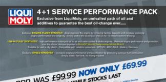 Liqui Moly 4 + 1 Service Performance Packs
