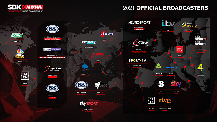 New Channels And Platforms To Broadcast Worldsbk Around The World