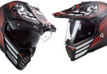 New Paint For Pioneer Dual Sport Helmet