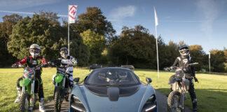 Mclaren Senna Takes On Three Motocross Bikes In Epic Race Up Goodwood Hill Climb