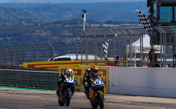 Odendaal Claims Maiden Worldssp Win With Last-corner Pass On Aegerter