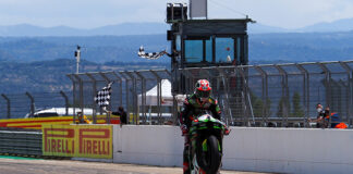 Rea Takes 100th Worldsbk With Race 1 Victory At Aragon