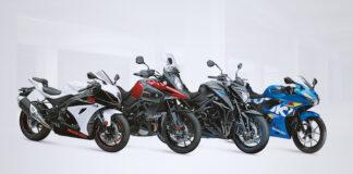Suzuki Showcases Striking New 2019 Colours At Motorcycle Live