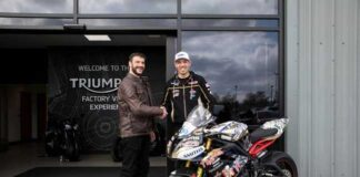 Triumph Motorcycles Announce Their Support For Two Top Rank Riders
