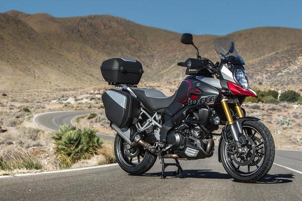 V-strom 1000 Launched On Suzuki Riderplan Pcp
