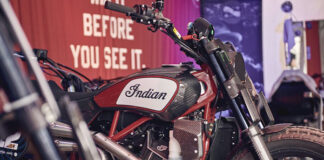 Indian Motorcycle At Glemseck 101 With The Ftr750, Ftr1200 Custom