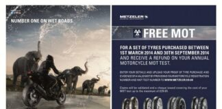 Metzeler Launch Free Mot Promotion For Motorcyclist