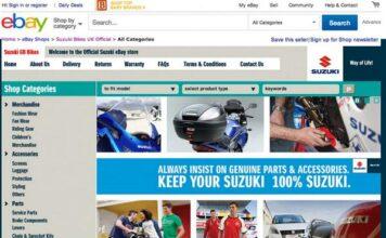 Suzuki Dealers Link Up For Ebay First