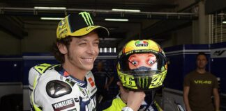 Agv Corsa The Valentino Rossi Double Face Helmet