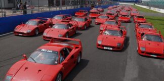 Iconic Ferraris Prance Into Performance Car Show