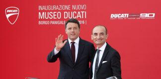 Italian Premier Matteo Renzi Inaugurates The New Ducati Museum