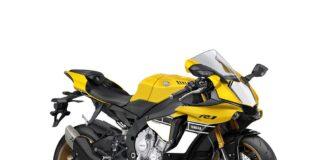 Special 60th Anniversary Yzf R1 With Iconic Racing Colours