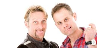 No Brakes For Carl Fogarty And James Whitham