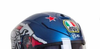 Agv Are Proud To Announce The Release Of A New Guy Martin Replica Helmet