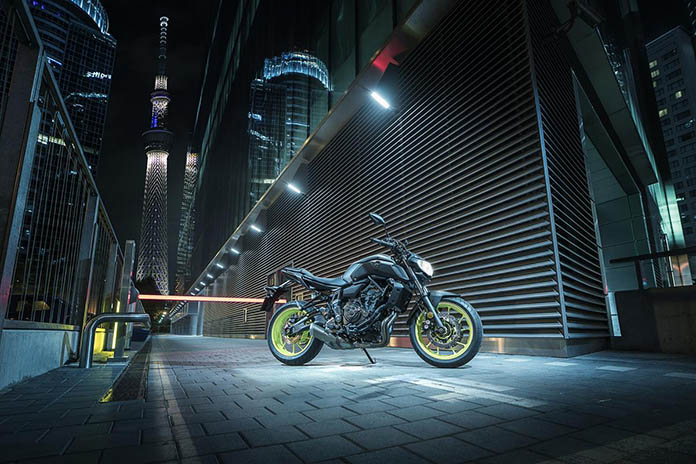 2018 New Yamaha Mt-07 And Mt-09 Sp