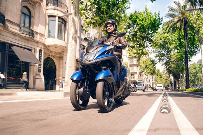 2018 Yamaha Urban Mobility Scooters