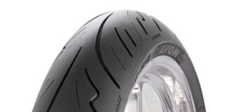 Avon Tyres At The Motorcycle Trade Expo Show In Spirit