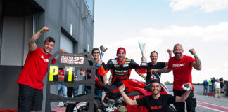 A Production Panigale V4 S Took First Place In An Italian Race