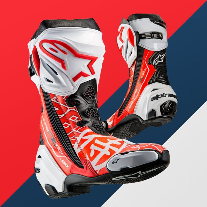 Alpinestars Presents: Limited Edition 'samurai' Supertech R Boot
