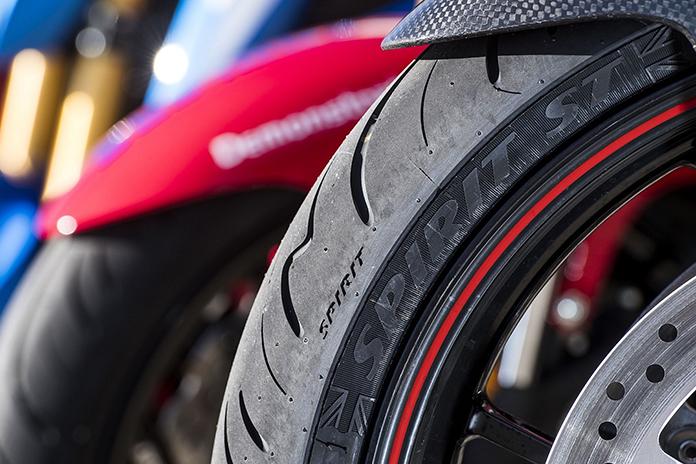 Avon's Spirit St Hypersport Touring Motorcycle Tyre