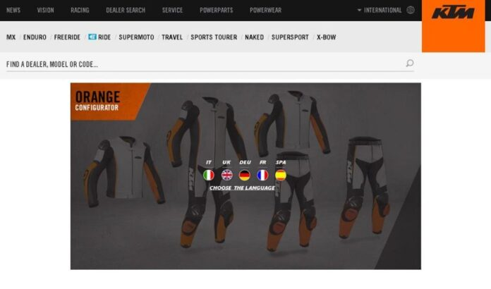 Customise It! Customised Ktm Leather Combi By Gimoto Available Online