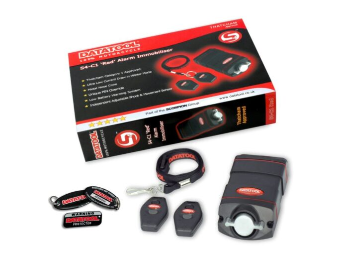 Datatool S4 Red Series Alarm Safety Recall