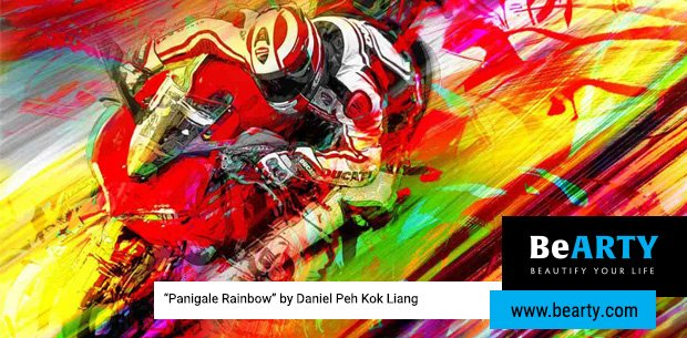 Ducati Motor Holding Sign A New Partnership With Bearty For Motorcycle Artworks
