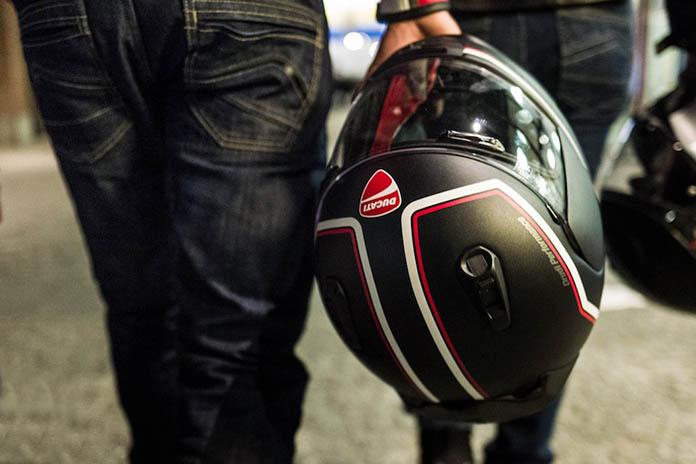 Exchange Your Full Face Helmet And Receive £100 Towards A New Ducati Arai Helmet