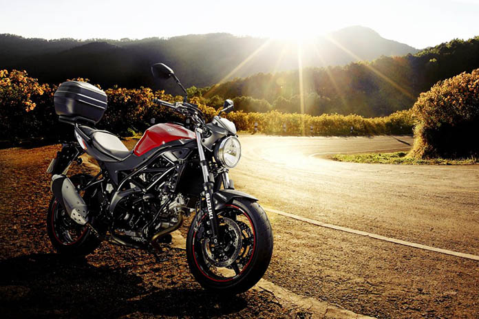 Go Further With Free Fuel And Top Box On Suzuki Sv650
