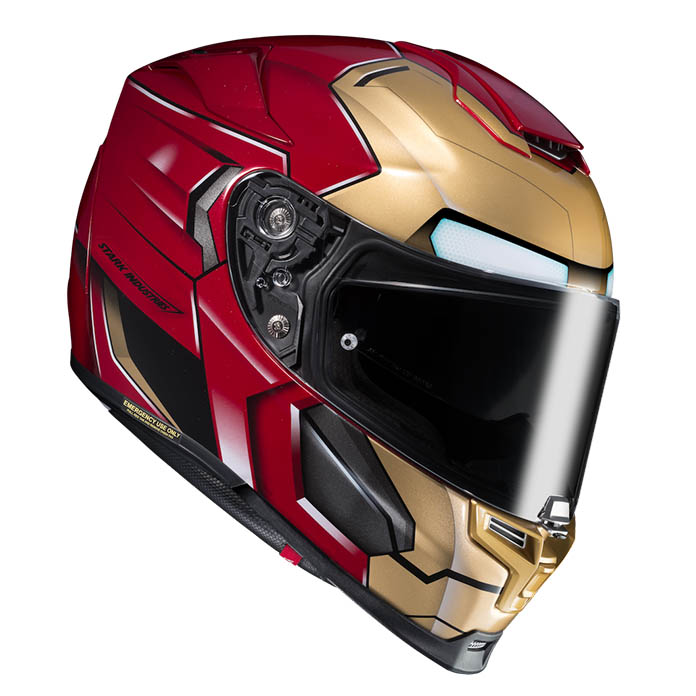 Iron Man Hjc Rpha 70 – In Stock Now