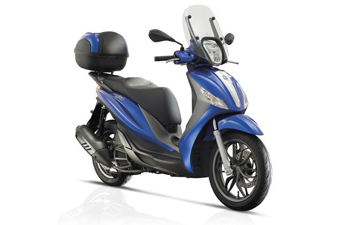 Medley Of Add-ons For New Piaggio Scooter