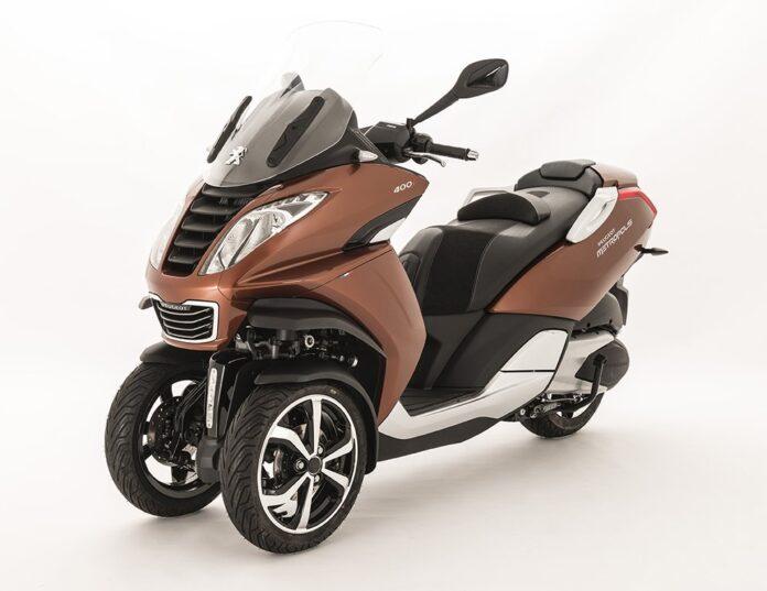 New Peugeot Metropolis 3-wheeler