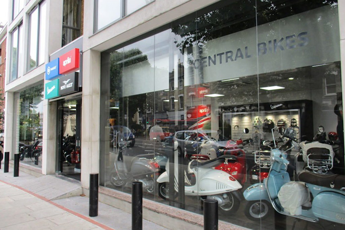 New Piaggio Group All-brand Retailers In Shepherd's Bush And Colchester